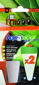 Aquasolo multipots - keramische kegels small 2 stuks