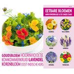 Eetbare bloemen kweek set