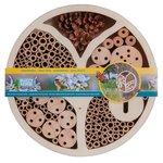 Insectenhotel rond voor meerdere soorten insecten