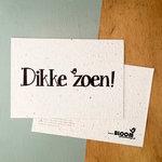 Dikke zoen bloeikaart van bloom your message _ Tuinspul.nl
