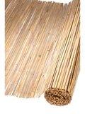 bamboemat van gespleten bamboe