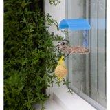 raam voederhuisje met zuignapjes | Tuinspul.nl