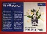 Tulpenvaas Piet design.  Vouwbaar