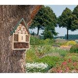 Insectenhotel voor meerdere soorten insecten