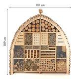 GROOT insectenhotel voor diverse insecten.