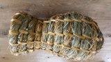 Traditionele eendenbroedkorf gemaakt van vlas/riet - Einekoerf - Tuinspul