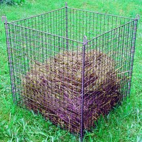 Compostkorf geplast. groen 78 cm