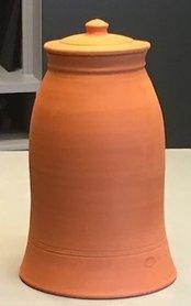 Bleekpot - Zeekoolbleekpot terracotta