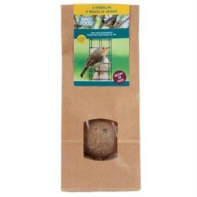 Bird Food vetbollen 6 stuks in duurzame verpakking