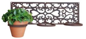 Plantenhanger klassiek - 3 potten