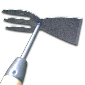DeWit Junior dubbele hak met 75 cm steel