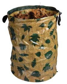 Pop up bag voor bladeren, eikels en kastanjes