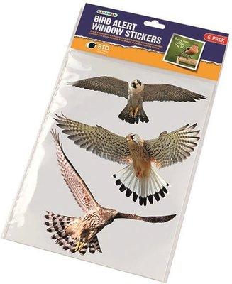 Raamstickers / vogelstickers