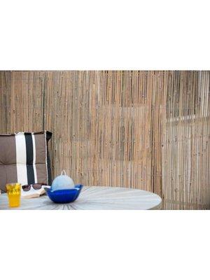 Bamboemat van gespleten bamboe 1.5 x 5 meter