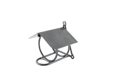 VBN Pindakaaspothouder metaaldraad grijs