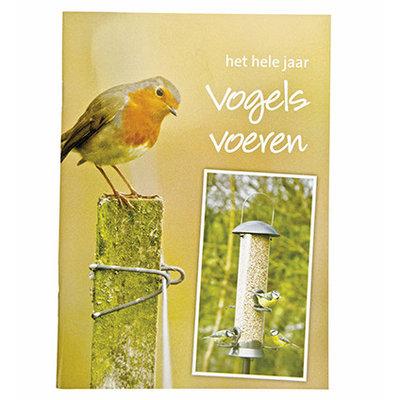 """Boekje """"Vogels voeren - het hele jaar"""""""