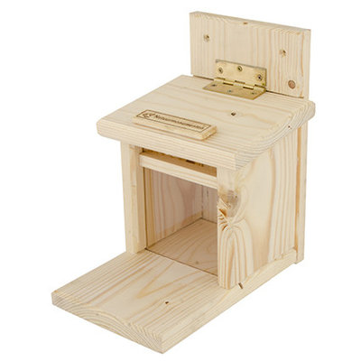 Natuurmonumenten Eekhoorn Voederhuis - FSC hout