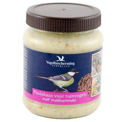 VBN Pindakaas voor tuinvogels met meelwormen