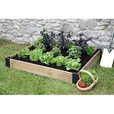 Verhoogd plantbed, basis