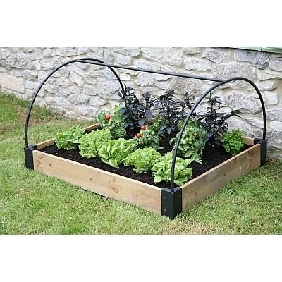 Verhoogd plantbed, frame