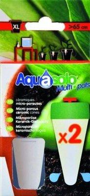 Aquasolo multipots - keramische kegels XL 2 stuks