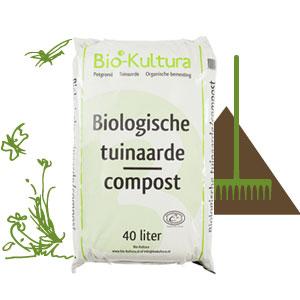 Bio-Kultura biologische tuingrond/aarde 20/40 Liter (Afhalen!)