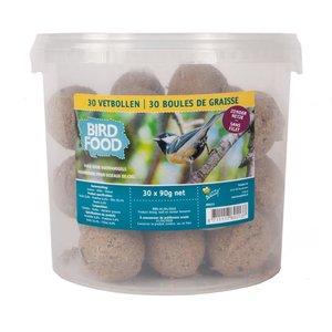 vetbollen zonder netje > Emmer 30 stuks > feeders