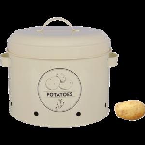 voorraadblik aardappelen