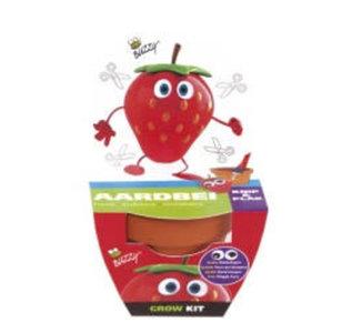 Buzzy Kids Grow Kit Aardbei  | Tuinspul.nl