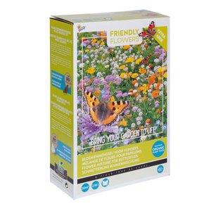 Friendly Flowers XL Vlinders Laag 50m²