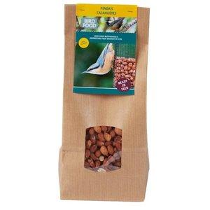 bird food, pinda's in duurzame verpakking
