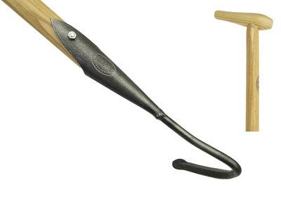 De Wit Cultivator 1 tands. Met essen houten steel lengte 1400mm