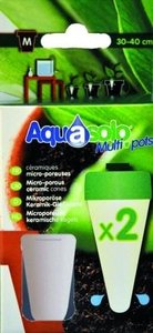 Aquasolo multipots - keramische kegels medium 2 stuks