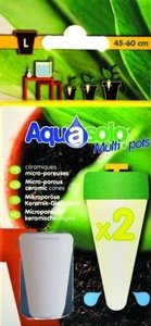 Aquasolo multipots - keramische kegels large 2 stuks