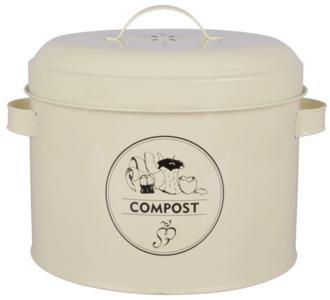 Compostverzamelaar met geurfilter