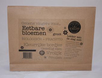 Eetbare Bloemenpakket - groot