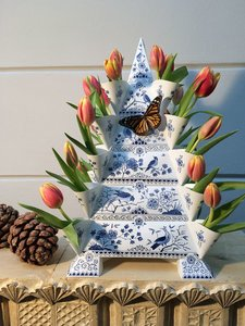 Grote Tulpenvaas Piet Design